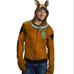 Rubie's Costume Scooby Doo Zip Front Hoodie Size S